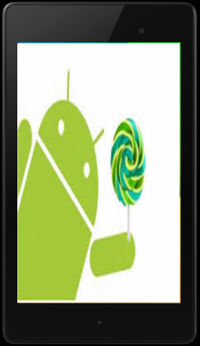 Android 5.0.1 Lollipop Nexus 7