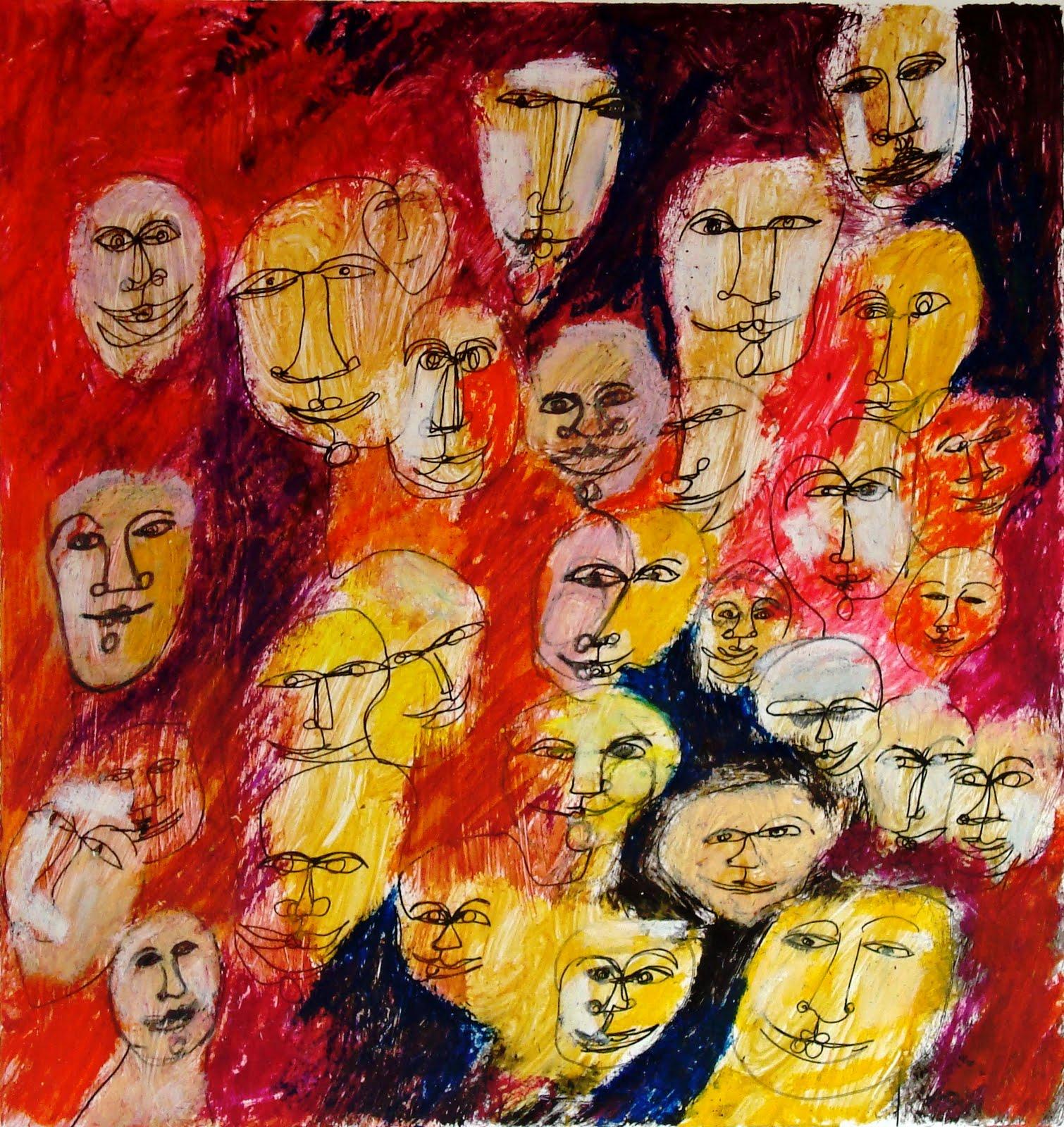 muestra de arte contemporaneo: