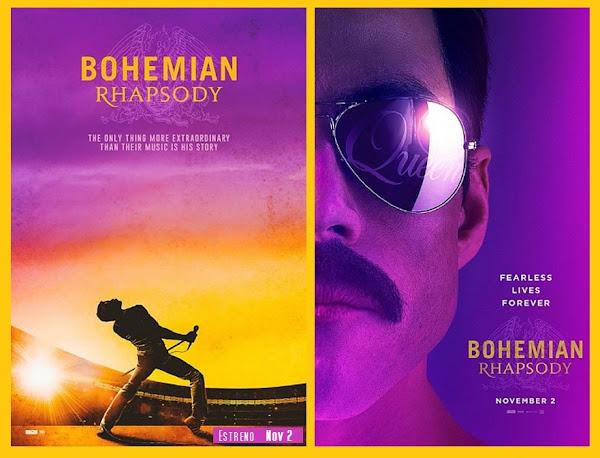 """""""Bohemian Rhapsody"""" la película: Viernes 2 de noviembre del 2018, estreno en México ¿Listos?"""