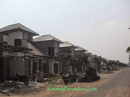 Pembangunan cluster baru Mandiri Residence