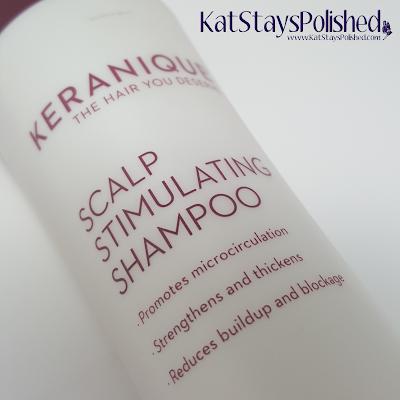 Keranique Scalp Stimulating Shampoo | Kat Stays Polished