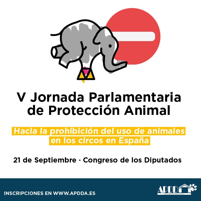 V Jornada Parlamentaria de Protección Aninmal