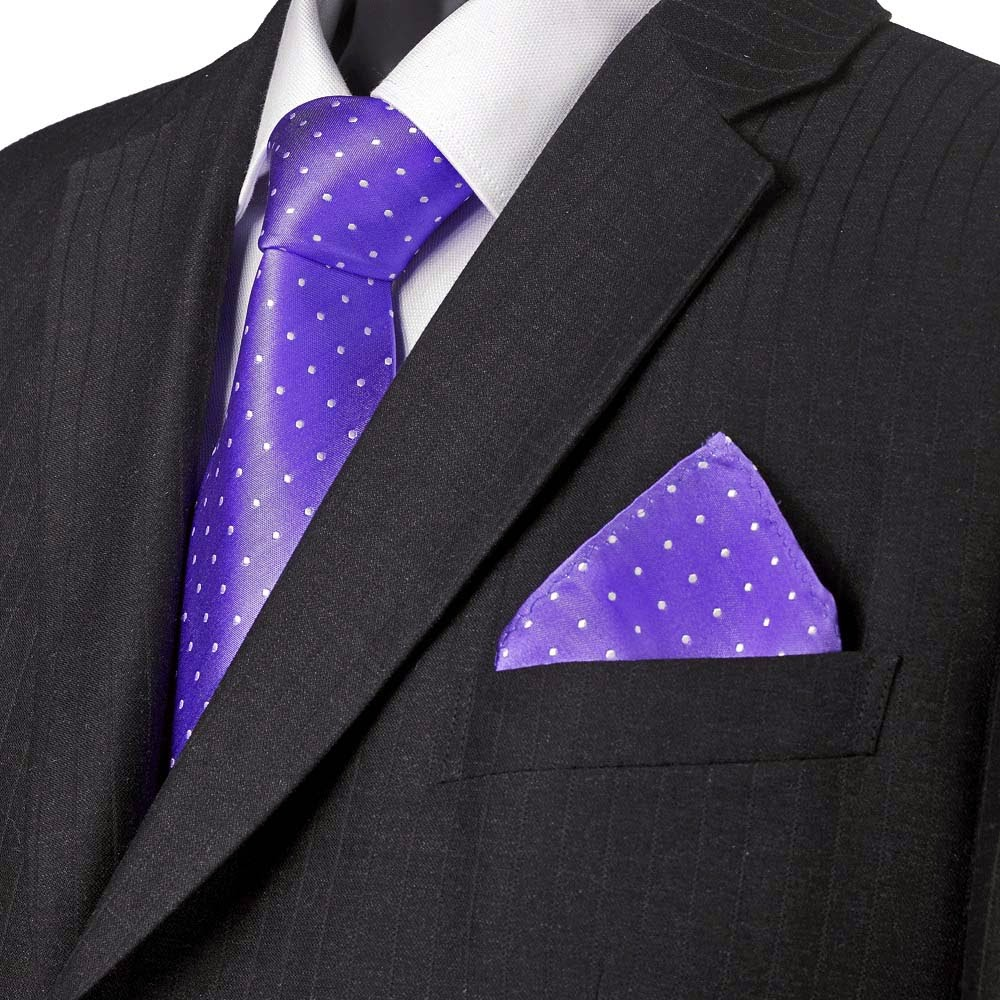 Beauty And Fashion Mens Ties Purple Tie
