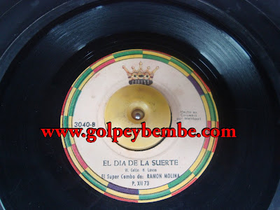 45 Rpm Ramon Molina y su Combo SIDE b