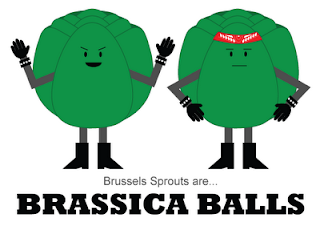 Brussels Sprouts are... Brassica Balls