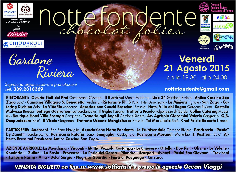 6° EdIZIONE NOTTE FONDENTE GARDONE RIVIERA