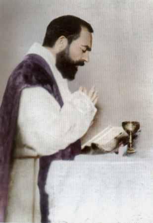 † St. Padre Pio