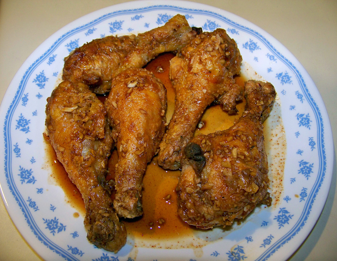 But As Much As I Wanted To Try Out The Oven Baked Fried Chicken Right Then  And There, I Really Wanted To Taste It Using Chef John's Garlic Ginger  Glaze