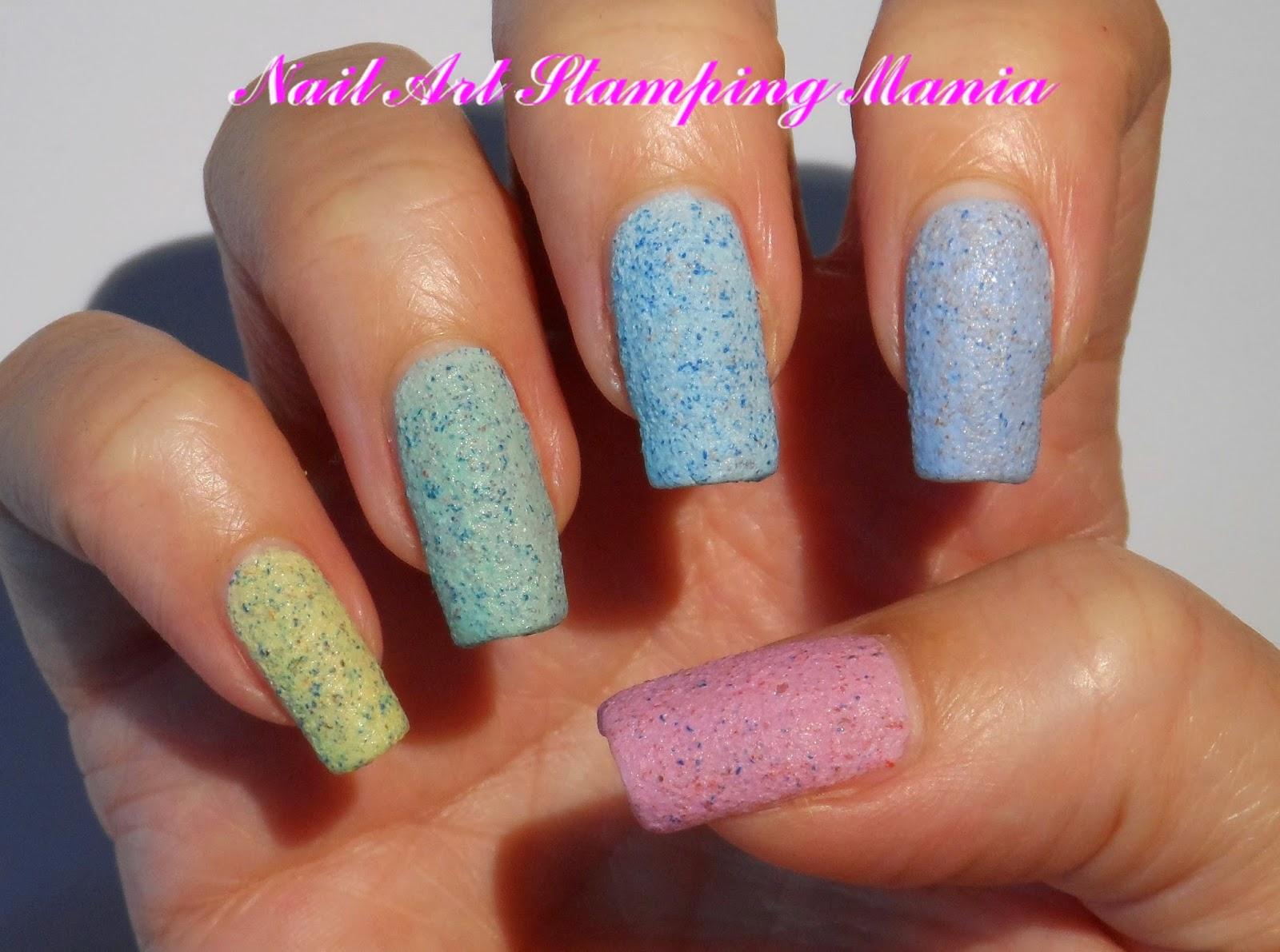 Nail Art Stamping Mania: Kiko Cupcake Nail Lacquer Review