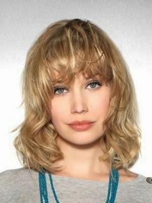 cortes de pelo con flequillo 2014