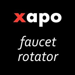 Xapo Faucet Rotator