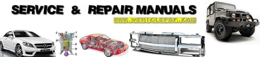 Free Download repair service owner manuals Vehicle PDF
