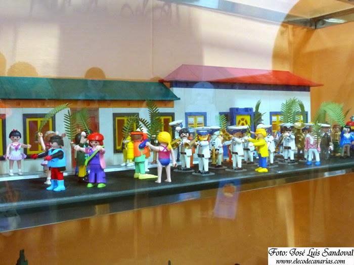 Recuerdos de Canarias con playmobil, Arucas