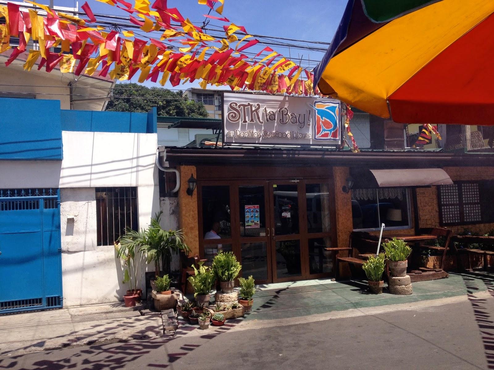 STK ta Bay sa Paolito's Seafood House, No.6 Orchid Street, Capitol Site, Cebu City