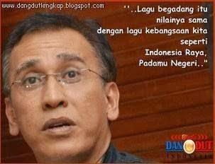 Iwan Fals menilai Lagu Begadang setara dengan Indonesia Raya