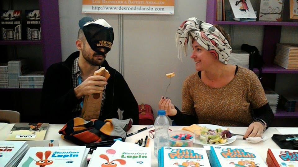 Voir l'album photos sur Flickr : Des ronds dans l'O au festival BD Boum de Blois - novembre 2014