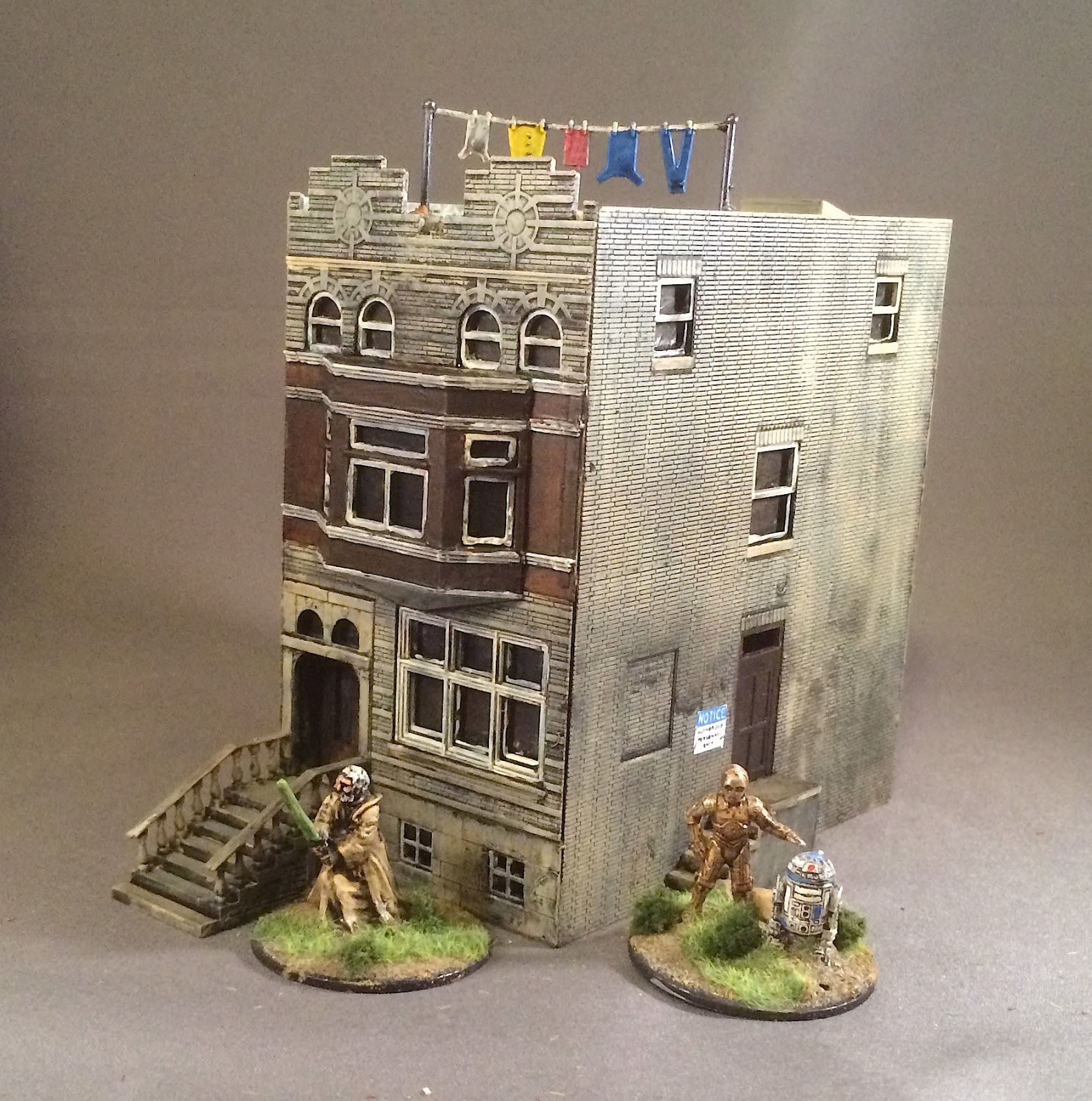 Bob S Miniature Wargaming Blog More Ho Scale Buildings