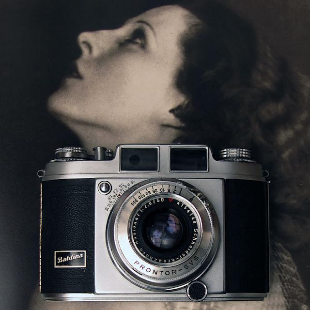 Balda Baldina camera. Photograph by Tim Irving