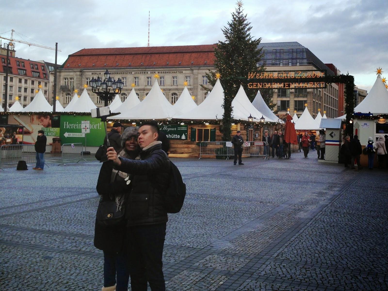 Decemberbilder från Berlin