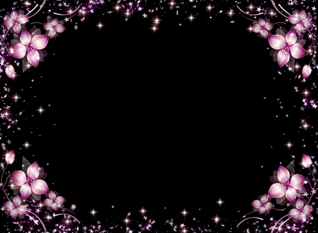 Bordes y marcos bonitos de flores - Imagui