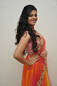 sri mukhi glam pix in half saree-thumbnail-12