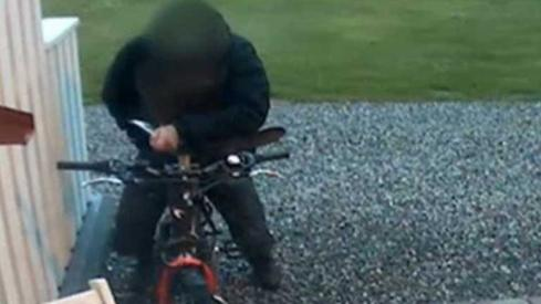 Man Caught On CCTV Having Sex With Bicycle
