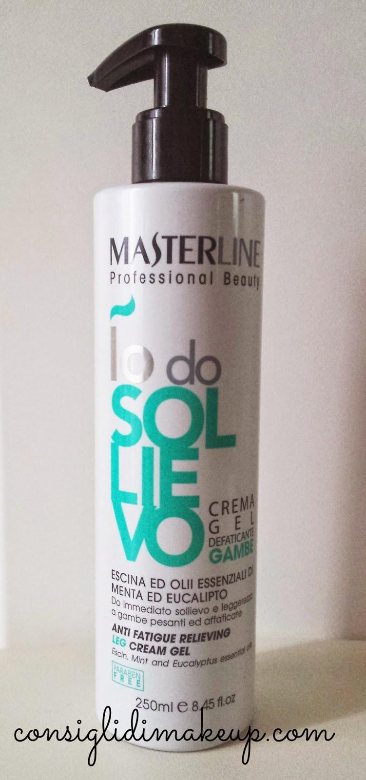 Review: Io do Sollievo Crema Gel Defaticante Gambe - Masterline