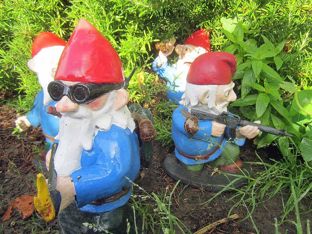 Super Punch Combat Garden Gnomes For Sale