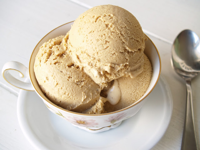 Persimmon and Peach: Ice Cream #14: Chai