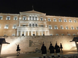 Changing of the Guard at Parliament, Syntagma Square, Athens, December 2014