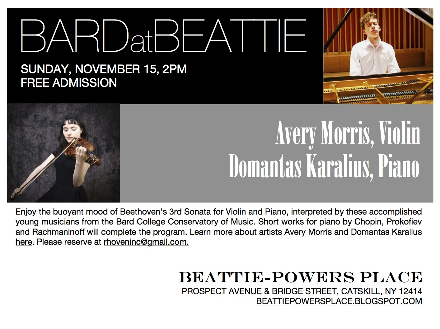 Beattie powers place beethoven chopin prokofiev for Yamaha music school los angeles