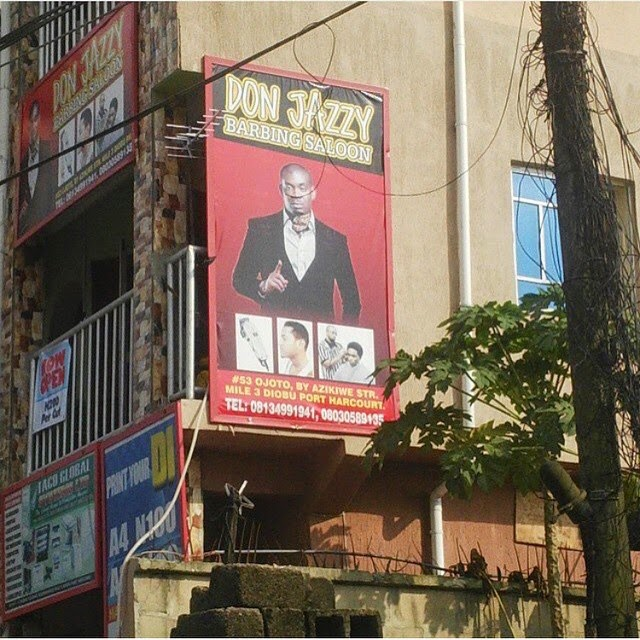 don jazzy barbing saloon