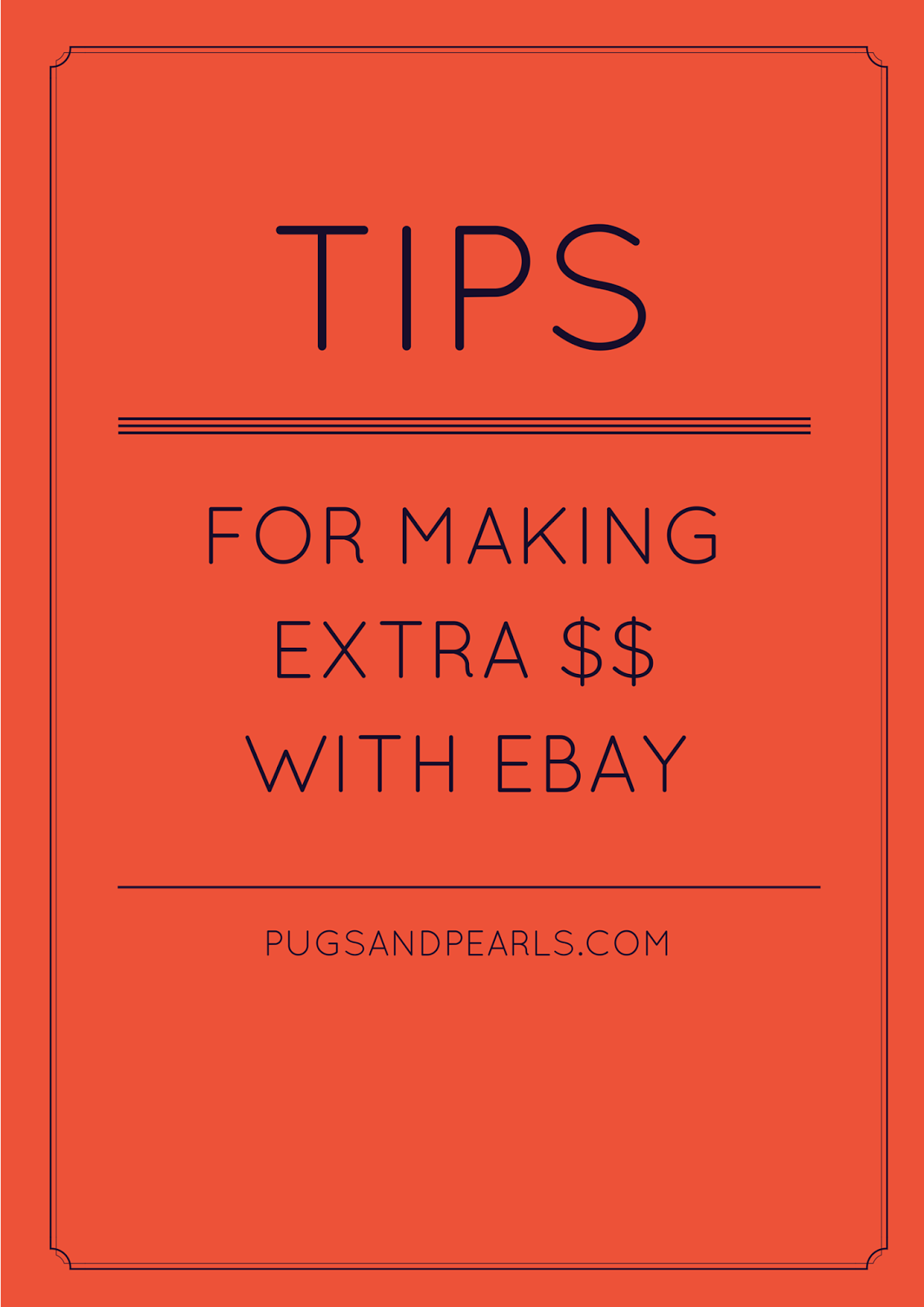 how to make extra money on ebay