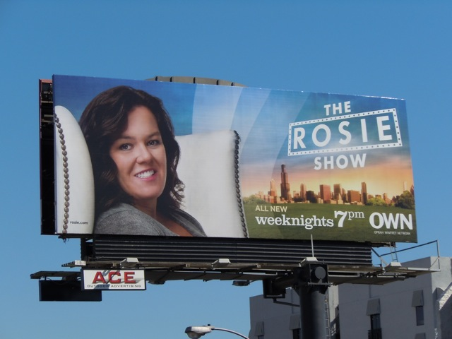 Rosie Show OWN billboard
