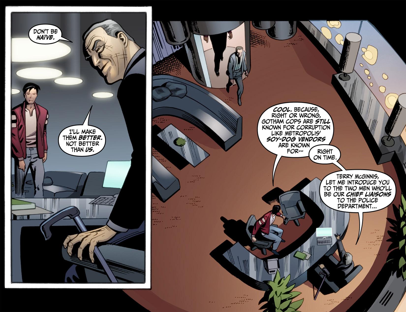 Batman Beyond (2012) Issue #3 #3 - English 19