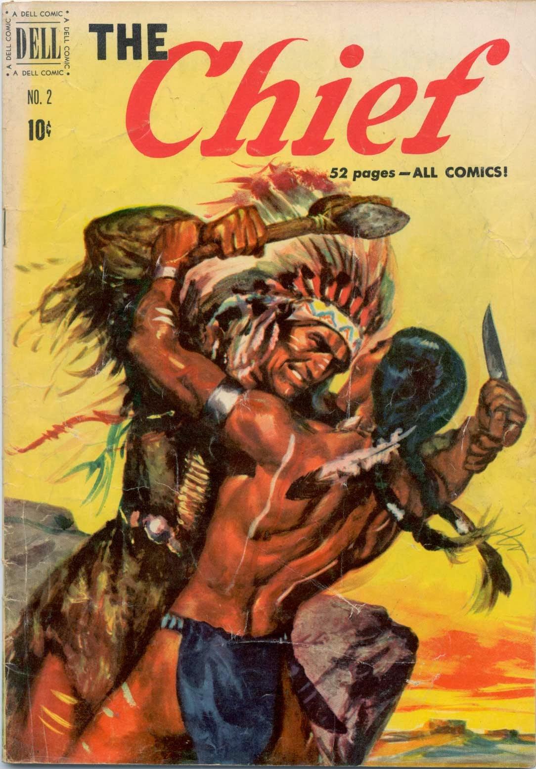Young Indian Warrior A young arikari brave