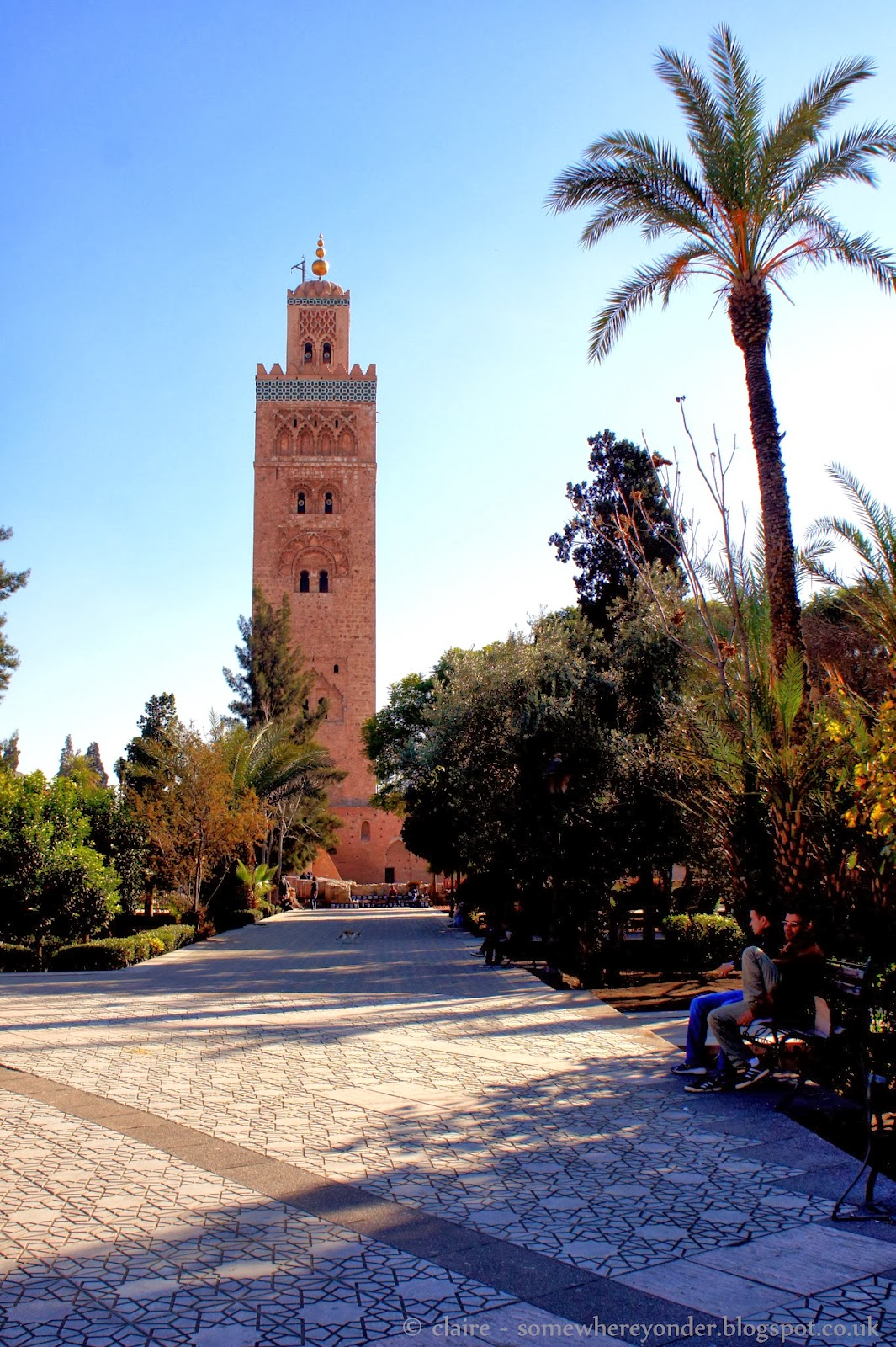 Koutoubia Mosque - Marrakech