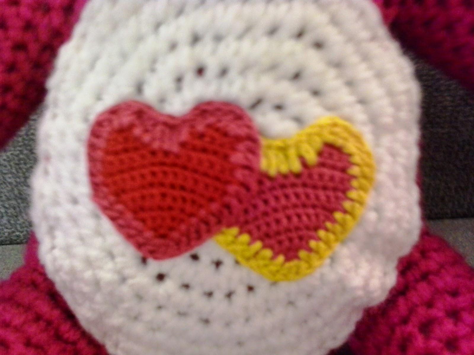 Crochet Fanatic: LOVE-A-LOT CARE BEAR