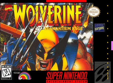wolverine adamantiun rage snes rom game