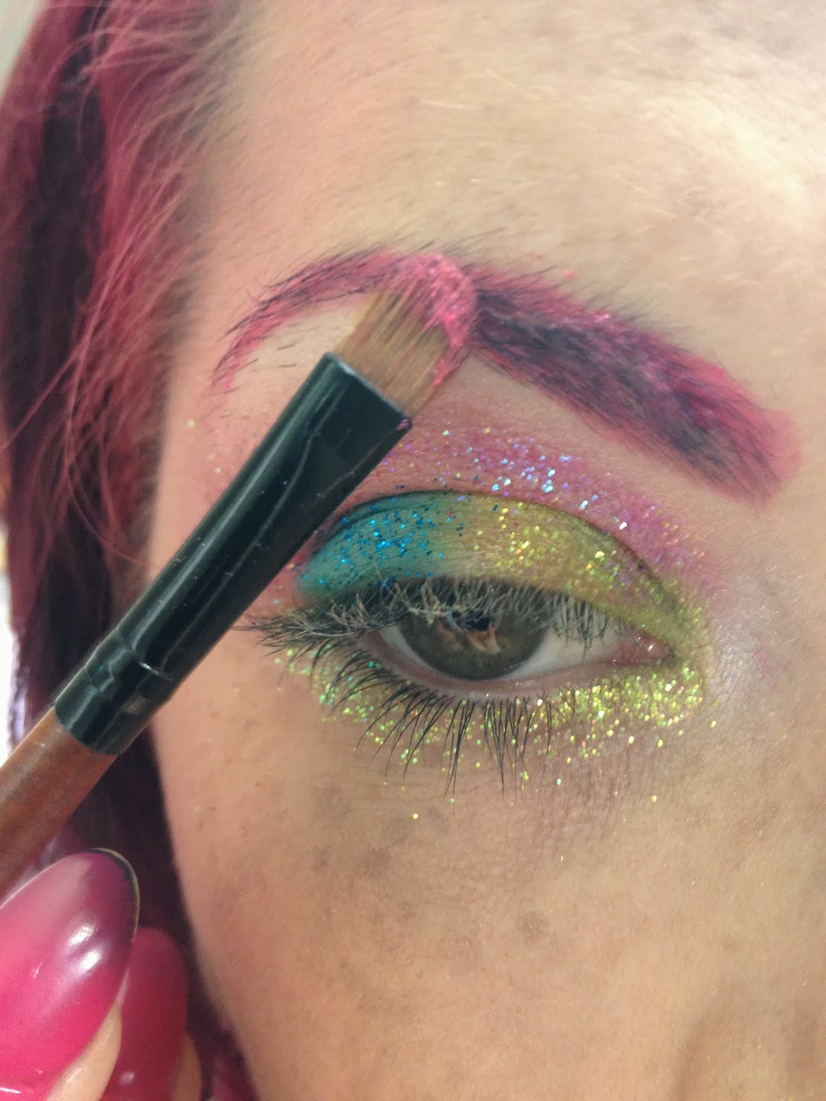 Glass Rose Eyebrow Issues