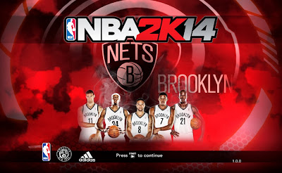 NBA 2K14 Brooklyn Nets' Starting 5 Image Cover