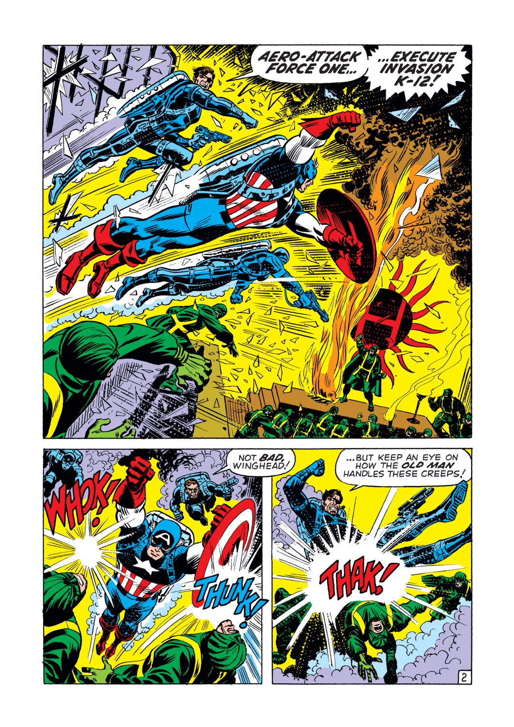 Captain America (1968) Issue #144 #58 - English 3