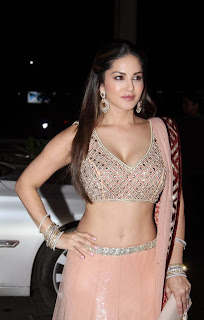 Sunny Leone Stills at Tulsi Kumars Wedding Receptions 1.jpg