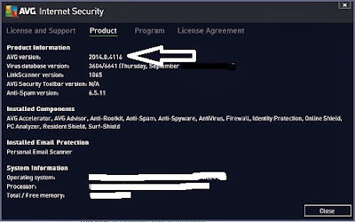 AVG Internet Security 2014 1 Year Serial Key Check Information