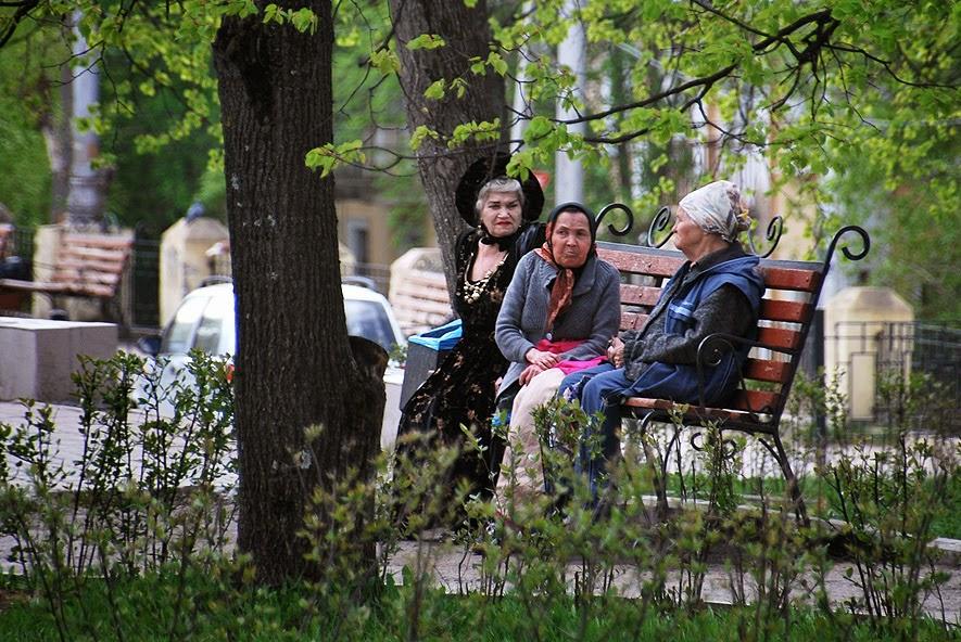 Забавные бабушки в Березниках