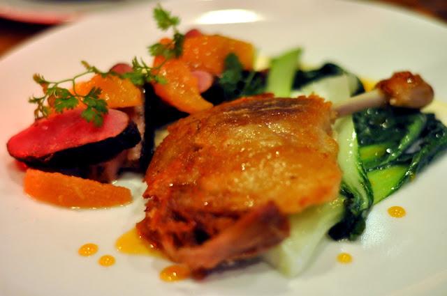 Five-Spiced Rohan Duck - Craftbar - New York, NY   Taste As You Go