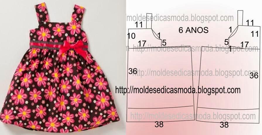 Сшить летнее платье для девочки 2 лет своими руками