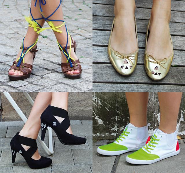 DIY Schuhe selbst pimpen