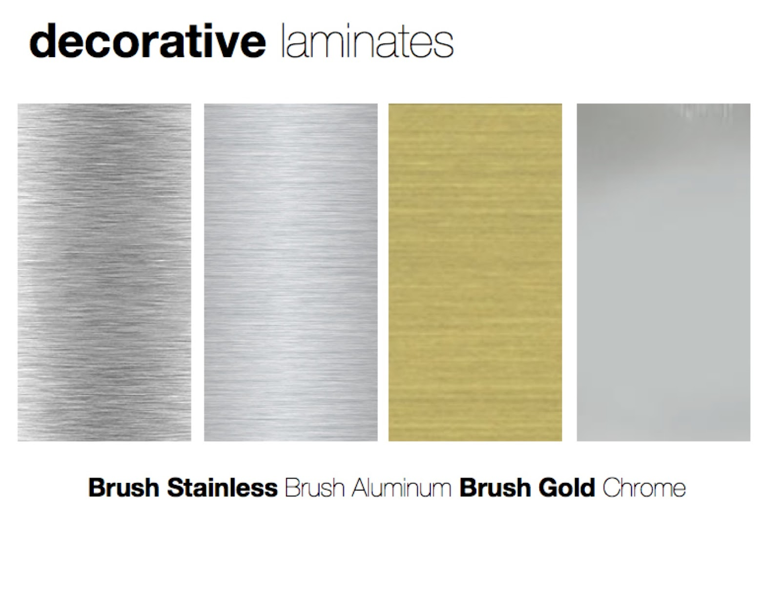 Brushed Aluminum Brush Aluminum Brush