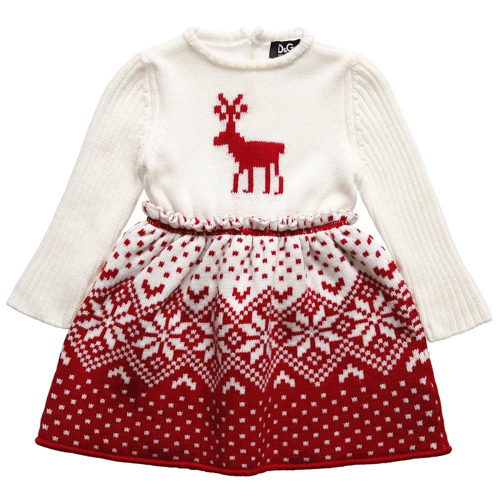 Designer baby dolce amp gabbana fairisle dress